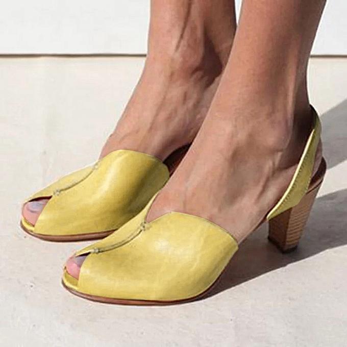 Fashion jiahsyc store Wohommes Ladies Ankle Elegant Casual Peep Toe Sandals Rohomme chaussures à prix pas cher