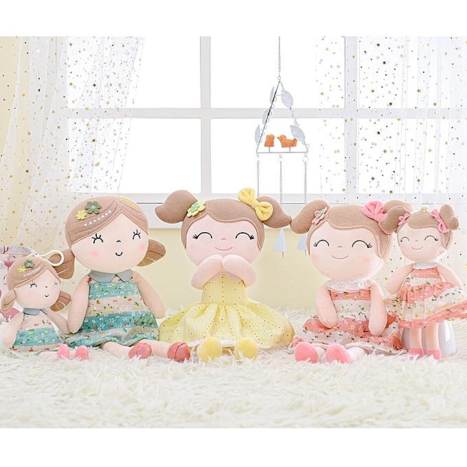 Autre Plush Dolls Spbague Girl   Doll Gifts Cloth Dolls Enfants Rag doll Plush Toys Kawaii(vert-box) à prix pas cher