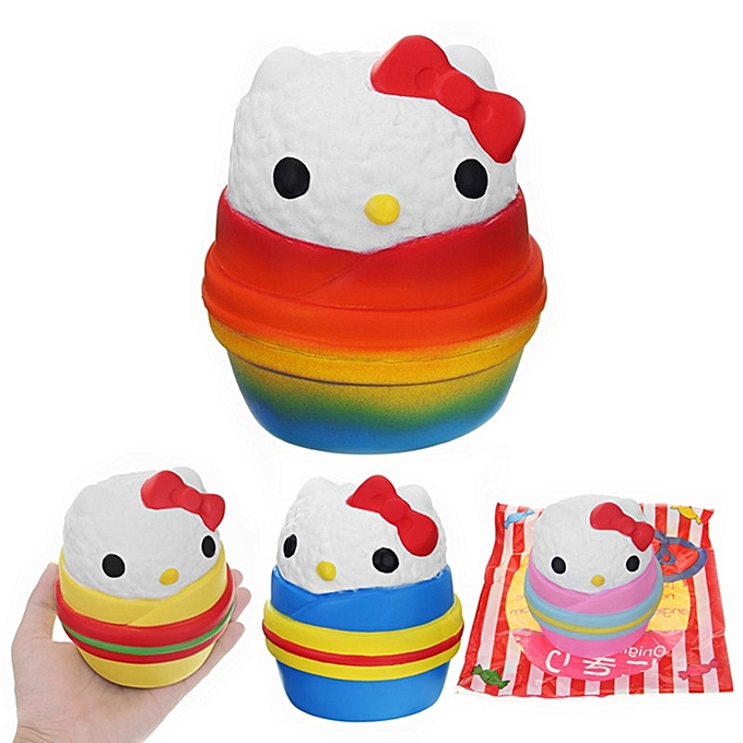 UNIVERSAL Angie Squishy Onigiri Sushi Jumbo 12cm Scented SFaible Rising  Packaging Collection Gift Decor Toy-rose à prix pas cher