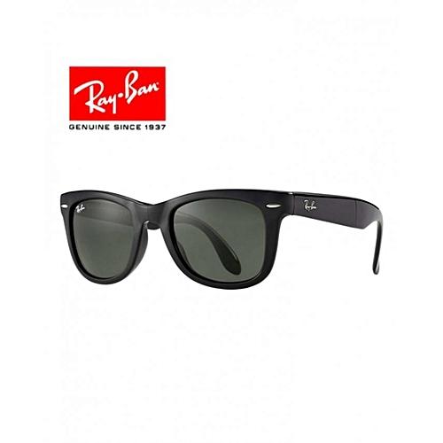 83310302ec95f0 Ray Ban Lunette de Soleil Wayfarer Pliable Classique RB4105-601 - Noir à  prix pas cher   Jumia Maroc