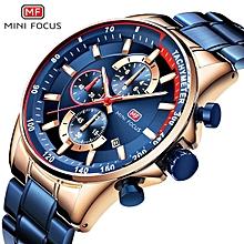 acb1a58176d45 MINIFOCUS Luxury Brand Men Watches Stainless Steel Fashion Men  039 s  Wristwatch Quartz Watch