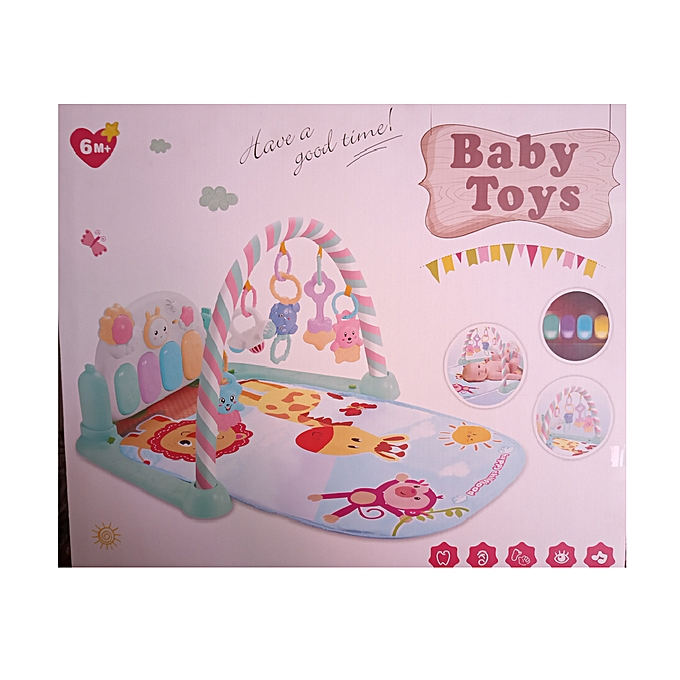 gym musical Tapis de jeu pour bébé avec clavier de piano à prix pas cher