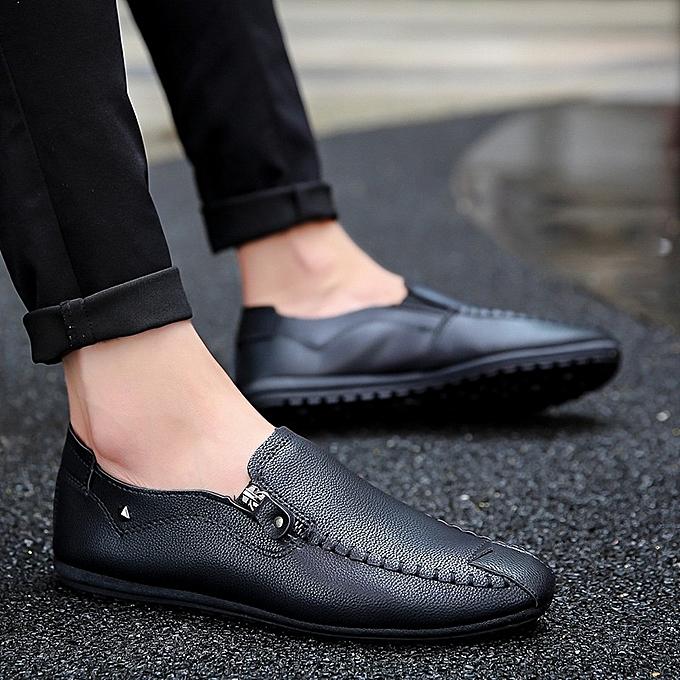 Autre Stylish Zipper Decoration  's Casual Casual 's Lazy Shoes à prix pas cher    Jumia Maroc d04ef9