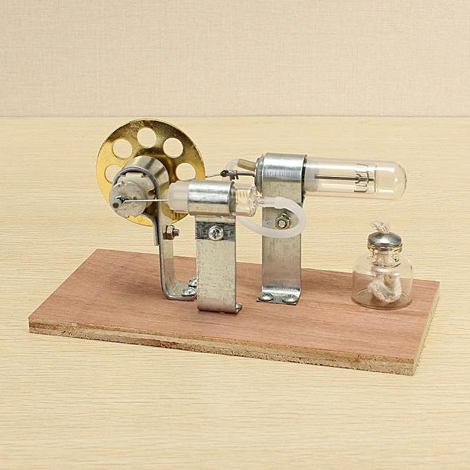 OEM Mini Sterling Engine Model Miniature Steam Powerouge Toy Physics ExperiHommest à prix pas cher