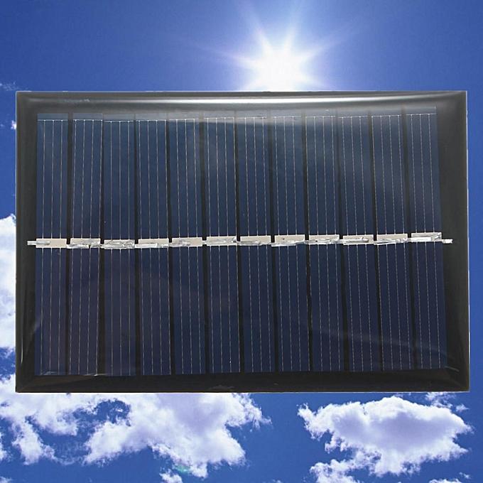 UNIVERSAL 6Pcs 6V 100mA 0.6W Polycrystalline Mini Epoxy Solar Panel Photovoltaic Panel à prix pas cher