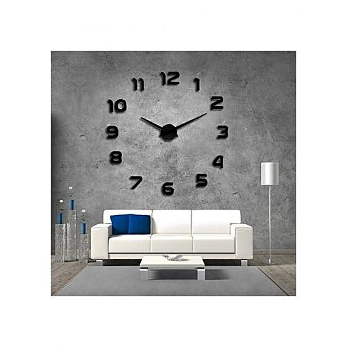 Commandez Générique Horloge Murale 3d Originale Design à Prix Pas