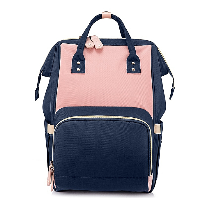 Fashion REALER femmes backpack Large Capacity Mummy Maternity Nappy Bag Multinational travel Backpack Designer Nursing Bag for Baby care à prix pas cher