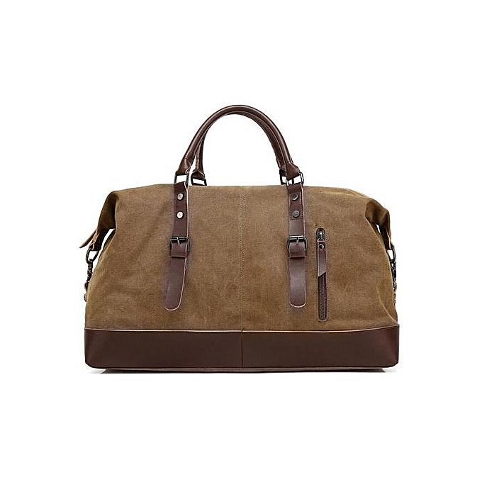 Generic Men handbag Large capacity Travel bag shoulder Casual Cross body à prix pas cher
