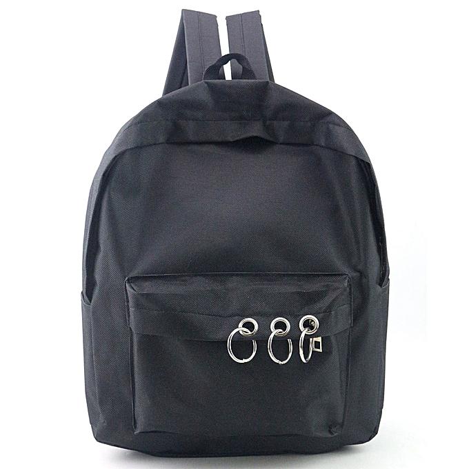 Fashion Singedan Shop femmes Fashion Travel Satchel School Bag Backpack Bag BK à prix pas cher