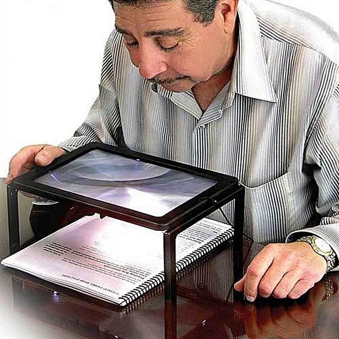 Kokobuy Reading Magnifier Led Light Gift à prix pas cher