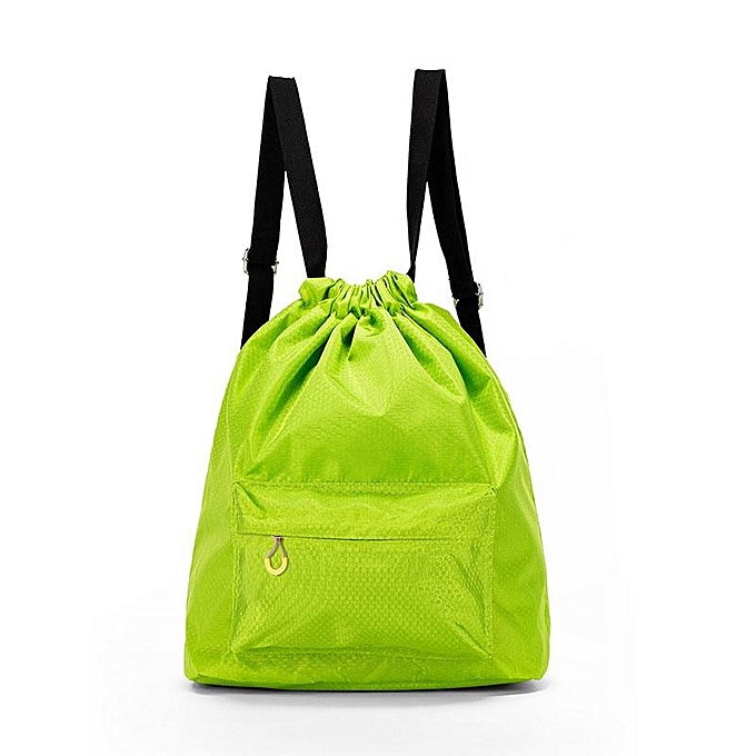 Fashion KCASA KC-SK01 Travel Waterproof Storage Bag Wet Dry Seperated Drawstring Bag Light Weight Backpack à prix pas cher