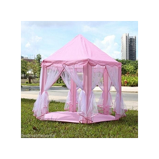 UNIVERSAL Portable Princess Kids Castle Play Tent Outdoor Indoor Activity Fairy House Fun Playhouse Toy à prix pas cher