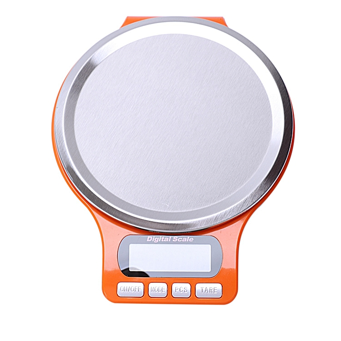 Other Scale Stainless Steel New Scale Electronic Scale Jewelry Orange noir(B) à prix pas cher