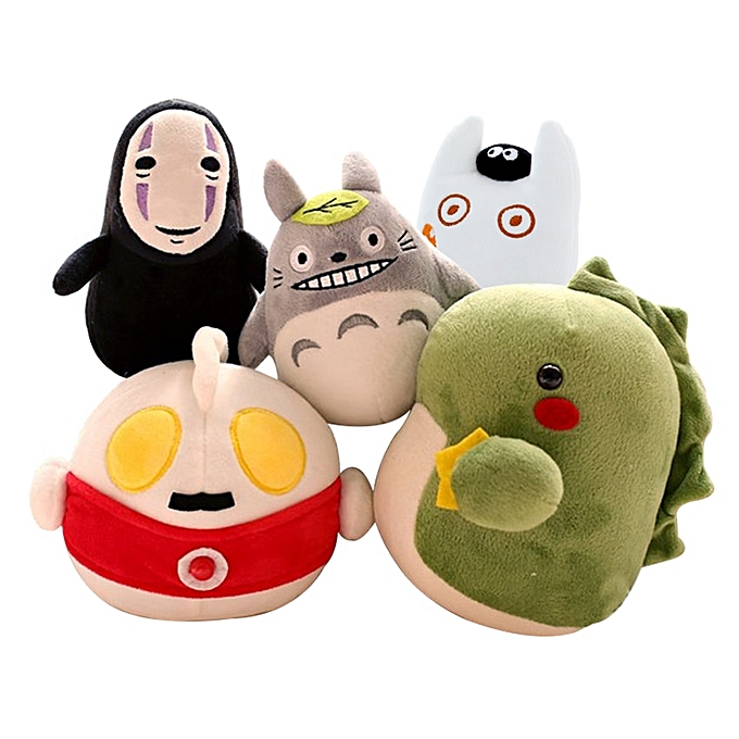 Autre 1pc 16cm 5 Designs Creative Plush Toys Totor No Face Man And The Peu Monster Popular  Bamboo Charcoal Creative Toy For Enfant(rouge) à prix pas cher