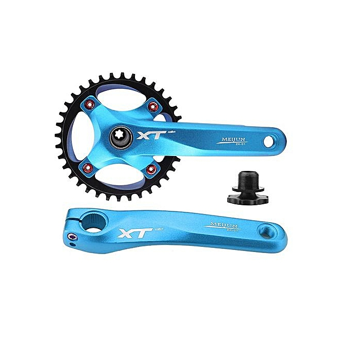 Other MEIJUN Mountain Bike Aluminum Alloy Crankset Integral Single Speed Crank Set Sprocket à prix pas cher
