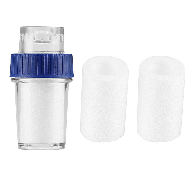 Other Mini Faucet Water Purifier Kitchen Water Quality Detector Household Tap Water Filter Remove Rust Filtering Suspended 2 filters 0 WIEDS à prix pas cher