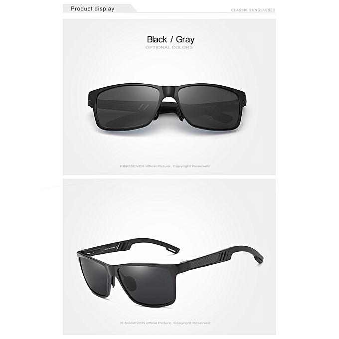 الرجال النظارات الشمسية المستقطبة الألومنيوم الشمس المغنيسيوم نظارات  القيادة نظارات مستطيل ظلال للرجال الرجال ذكر d94ff0bfbf5f