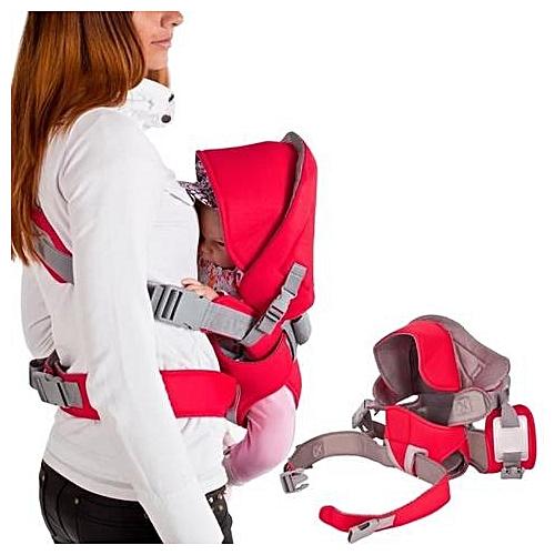 6798581f6f8 Baby carrier Porte bébé 4 en 1 de la naissance jusqu à 13 kg - Rouge ...