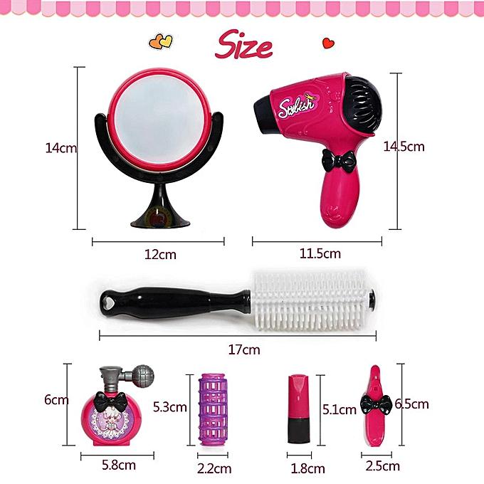 OEM Filles coiffure maquillage set salon de beauté kit de jeu mode cosmétiques maison jouet à prix pas cher