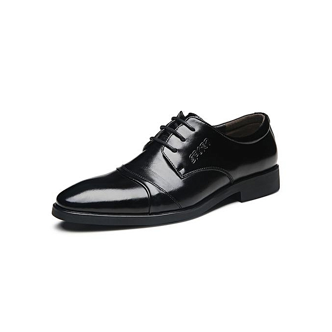 Fashion Mens Plus Taille Formal chaussures Lace-Up Business chaussures-noir à prix pas cher    Jumia Maroc