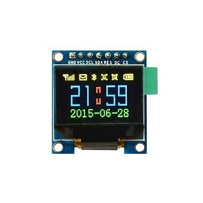 UNIVERSAL 0.95 Inch 7pin Full Couleur 65K Couleur SSD1331 SPI OLED Display Module For Arduino à prix pas cher
