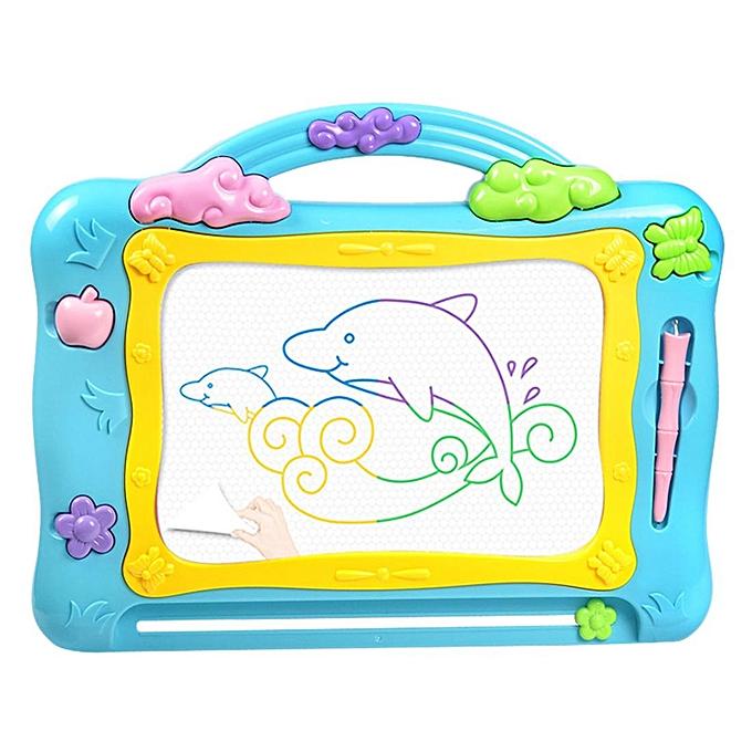 Autre Tableau de dessin magnétique, apprentissage de la tablette graphique EnlumièreenHommest Learning pour enfants - Couleur aléatoire L à prix pas cher