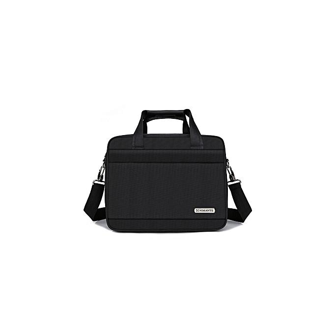 Other Kissyenia 13 14 15 inch Laptop Briefcase Hommes voyage Affaires Messenger sacs A4 Computer Suitcase imperméable Shoulder sacs KS1249(TypeB noir) à prix pas cher