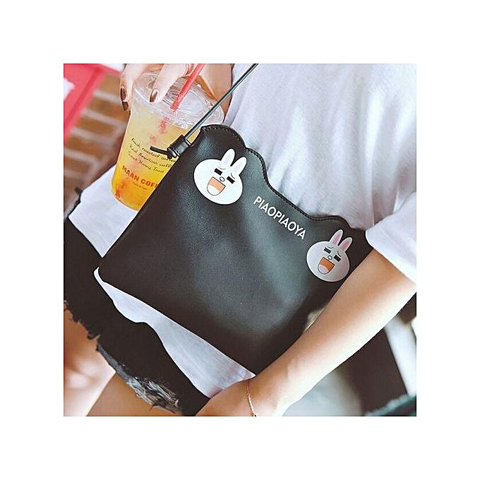nouveauorldline mode femmes Handsac bandoulière Shoulder Messenger Phone Coin sac A-noir à prix pas cher