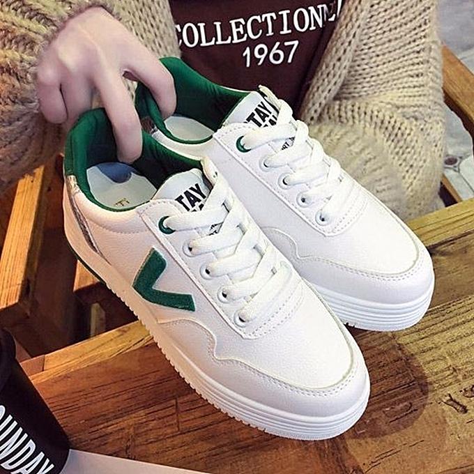 Autre Stylish ins Popular Thick Sole Schoolgirls' Schoolgirls' Sole White Shoes à prix pas cher    Jumia Maroc a7d07e
