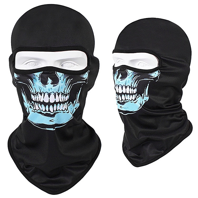 Autre WOSAWE 3D Skull Motorcycle Balaclava Full Face Mask Warmer Motor Helmet Liner Ski Paintball Snowboard Biker Riding Shield Hood( CS1HL) à prix pas cher