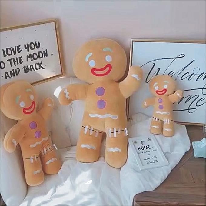 Autre INS Creative Cookie Man Doll stuffed animals Gingerbread Man Plush pendant Christmas decorations Comfort Plush toys kids gifts(Stuffed cookie homme) à prix pas cher