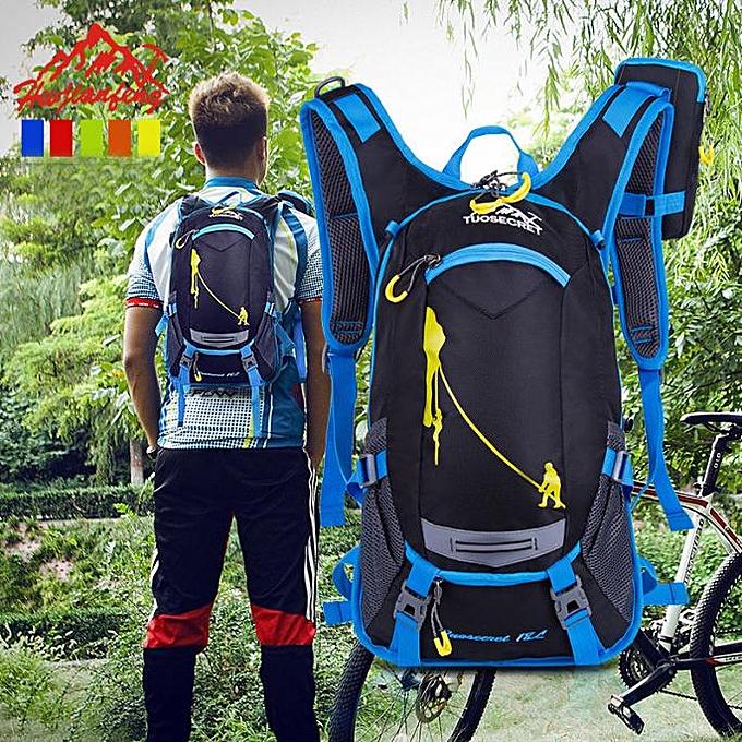 OEM 15L Bicycle Cycling sac à dos sac à dos Hydration Pack Helmet Water Bladder sac à prix pas cher