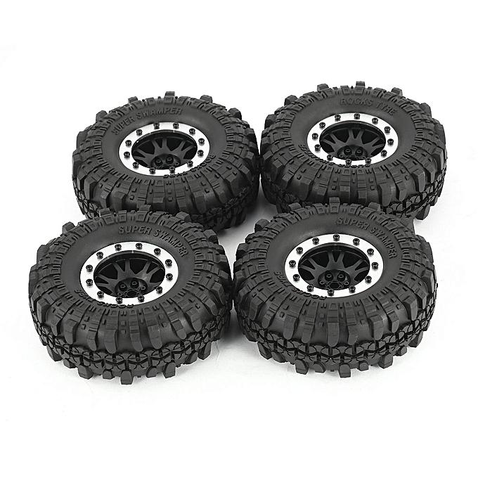 Generic AX 4020-1 110mm 1.9in Tire Beadlock Wheel Rim for 1 10 SCX10 90046 D90 RC voiture à prix pas cher