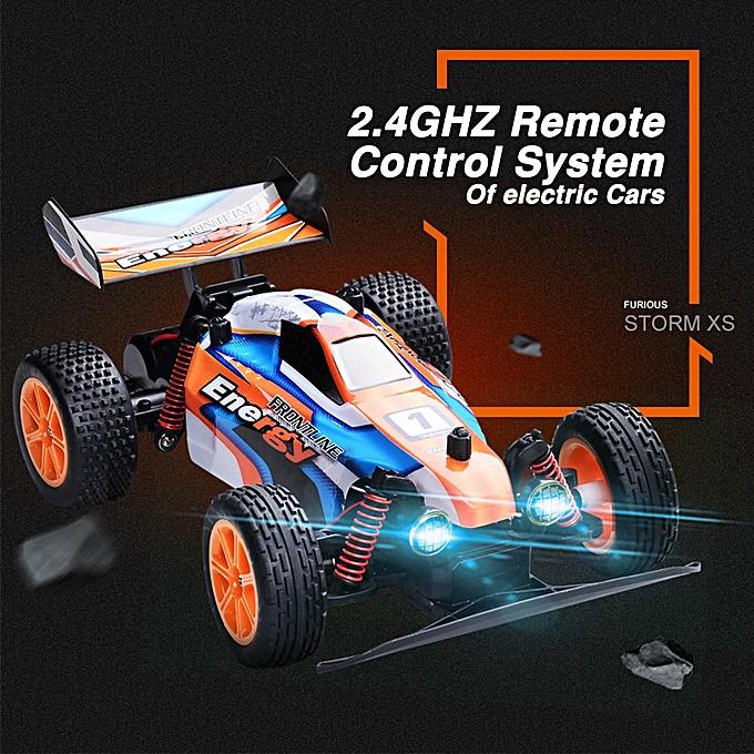 OEM 1 16 2.4G RC tout-terrain voiture de course tout-terrain télécomhommedée tout terrain à prix pas cher