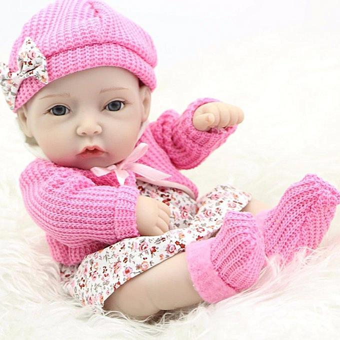 Autre Poupée de bébé princesse poupée à la main de vinyle de silicone princesse 28CM à prix pas cher