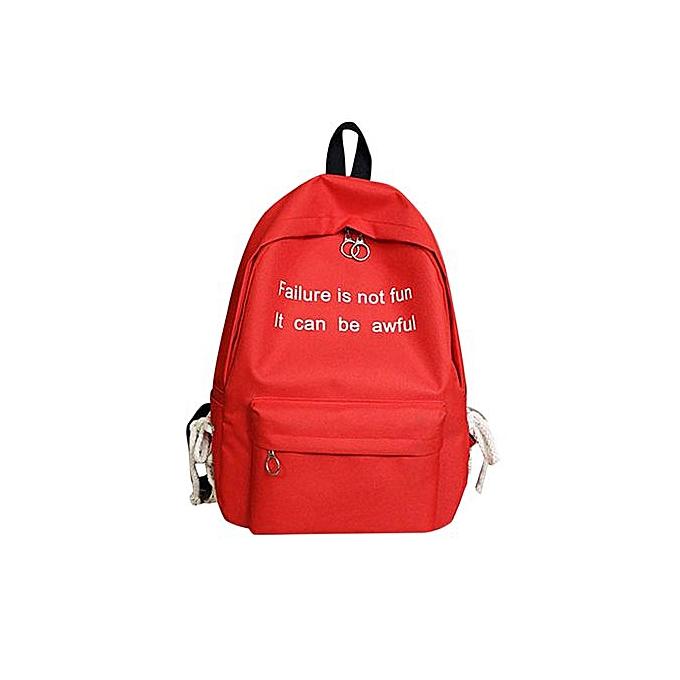 Generic Correponde femmes Hommes School sac Gripesack sac à dos Handsac Booksac voyage Rucksac à prix pas cher