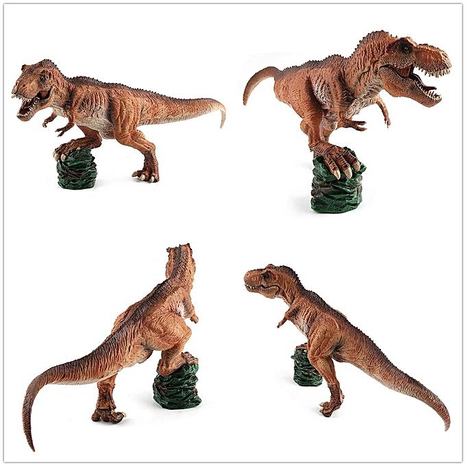 OEM 1 35 13 & quot;Tyrannosaure Roi T-Rex Peinture Dinosaure Musée Modèle Classe Enfants Jouet à prix pas cher