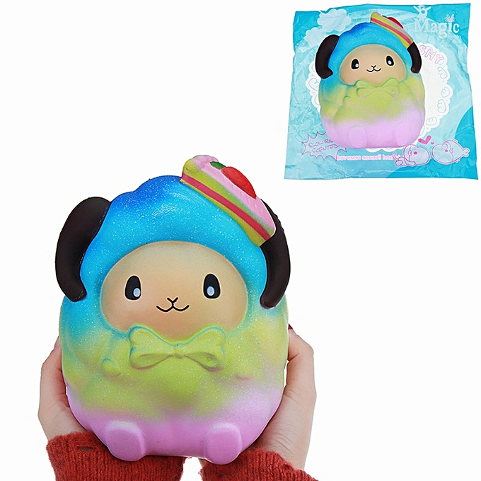 UNIVERSAL Squishy OverTailled 20cm pailleberry Sheep SFaible Rising Jumbo  Galaxy Couleur Toy Gift Collection- Couleur à prix pas cher