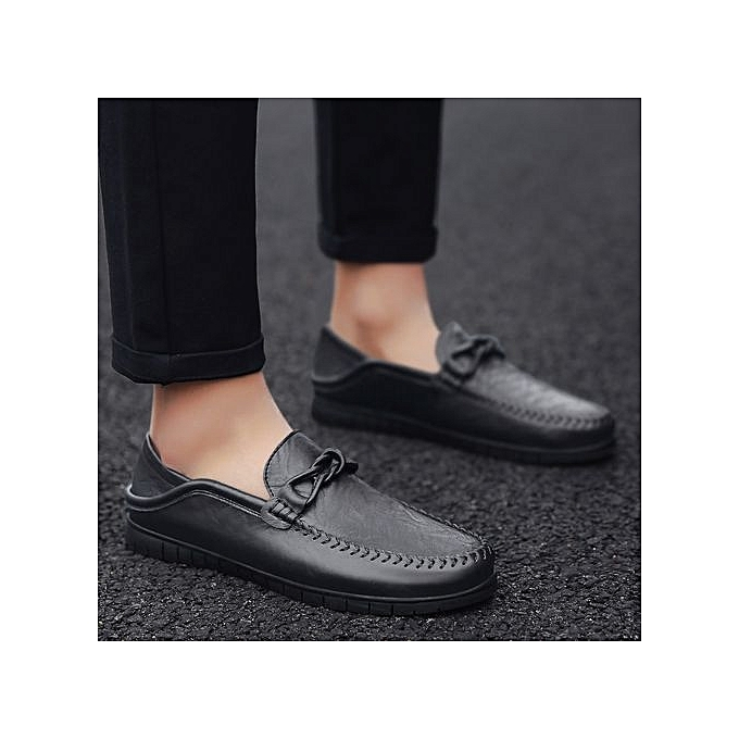 Zant Genuine Leather   Formal Shoes British British Shoes Sytle Loafers Slip-On à prix pas cher  | Jumia Maroc e45429