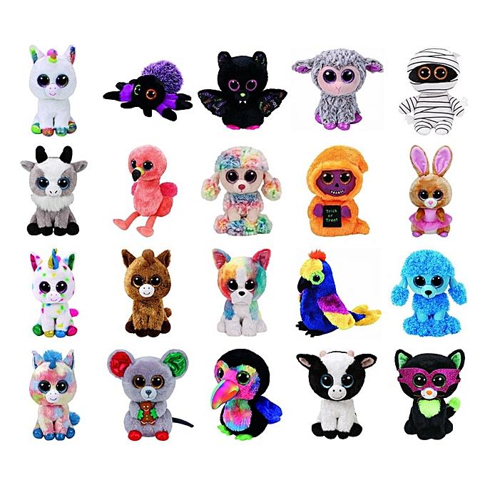 Autre Ty Beanie Boos Foxes Unicorn Dog Bat Spider Plush Toys Dolls Stuffed & Plush Animals 6  15cm(22) à prix pas cher