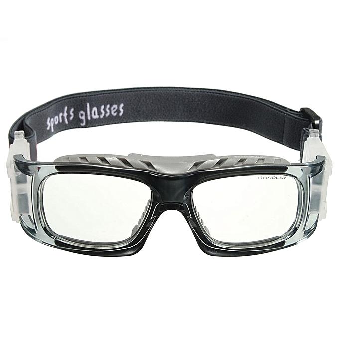 UNIVERSAL 8pcs Basketball Cycling Football Sports Prougeective Eyewear Goggles Eye Safety Glasses gris à prix pas cher