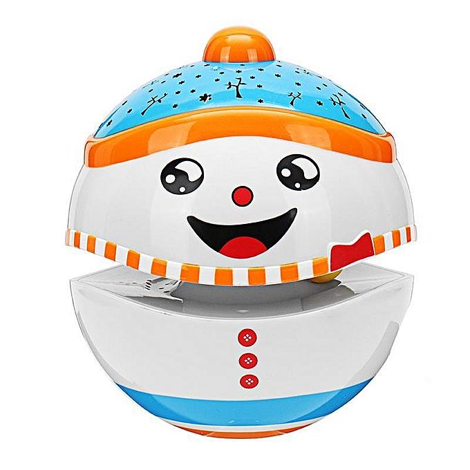 Autre Projection lumineuse mignon de poupée de Tumbler de Noël avec des jouets de bébé de musique pour le cadeau d'enfants d'enfants à prix pas cher