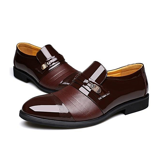 Fashion Fashion   Cap Cap  Toe Pointed Toe Slip On Business Formal Shoes-EU à prix pas cher  | Jumia Maroc ff6ac8