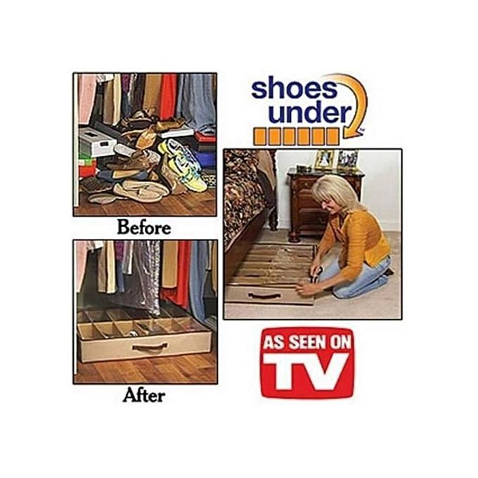 other pack rangement 2 ranges chaussures gain de place. Black Bedroom Furniture Sets. Home Design Ideas