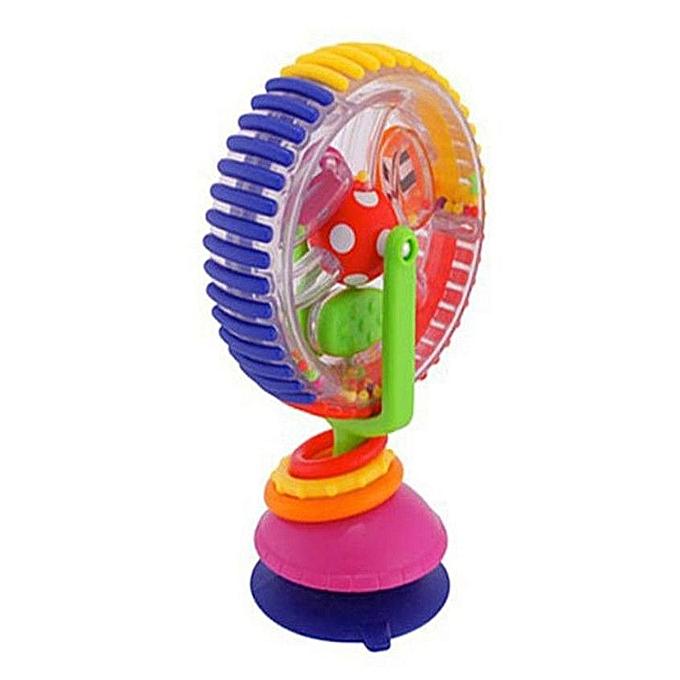 Generic Bébé panier ventouse chaise autour de la cloche moulin à vent tournant Ferriswheel à prix pas cher