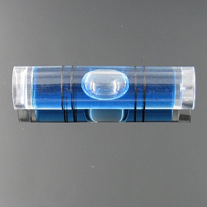 Autre (10 pieces Lot) 9.540mm bleu Couleur Spirit level bubble plastic bubble level Tubular vials à prix pas cher