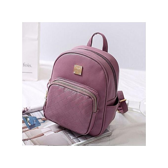 OEM Multi-function Backpack For femmes Travel Bags School College Bag Casual-violet à prix pas cher