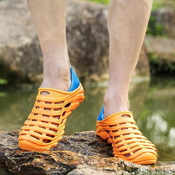 mode mode Hommes Soft HolFaible Out Slip Resistant de plein air Décontracté Sandals-EU à prix pas cher
