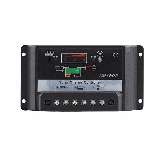 Other 1pcs 30A 12V 24V Panel Battery Regulator PWM Solar Charge Controller LED Screen mppt controlador charging hybrid system à prix pas cher
