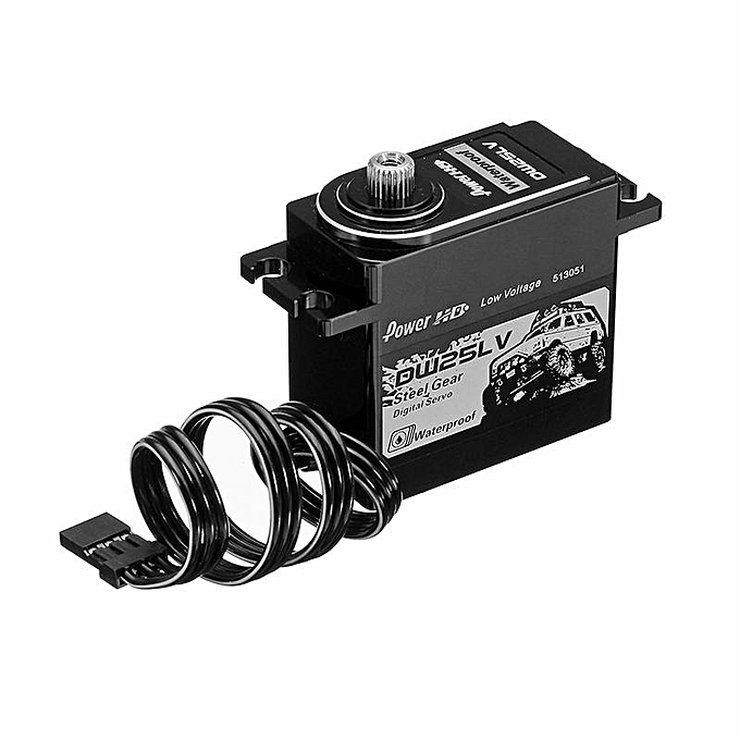 OEM Power HD DW25LV 25kg Digital imperméable Servo For RC Model à prix pas cher